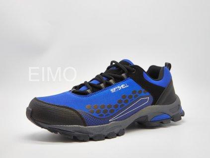 Modrá pánská outdoorová obuv Loco