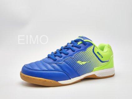 Sálová obuv dámská modro-zelená Tritono