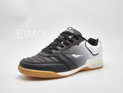 Černo-bílá pánská sálová obuv Bernado