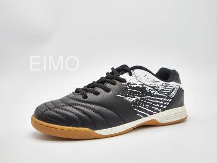 Černo-bílá pánská sálová obuv Maister