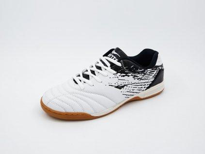 Bílo-černá pánská sálová obuv Brother