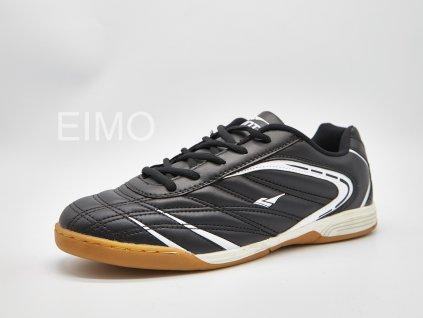 Černo-bílá pánská sálová obuv Stripes