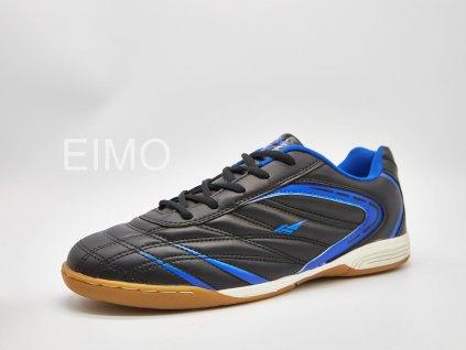 Černo-modrá pánská sálová obuv Leo