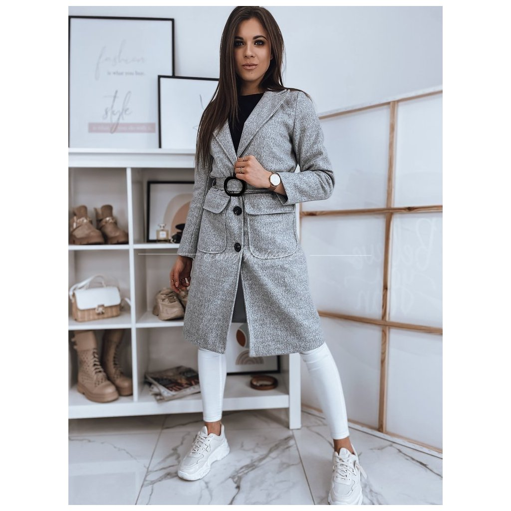 Dámský kabát SCHERMI/Gray