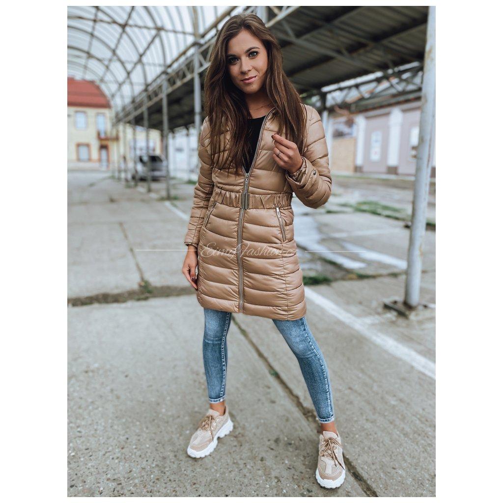 Dámská bunda DAFFE/Béžová