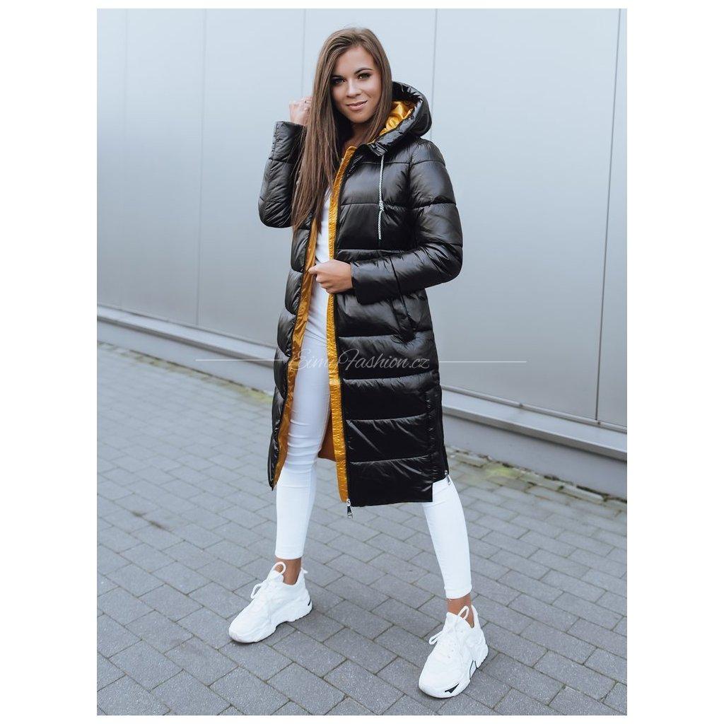 Dámská bunda BETHANNY/Černožlutá