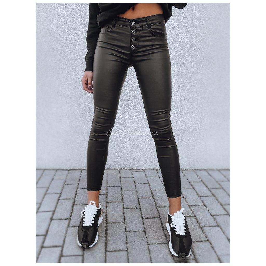 Dámské voskované kalhoty LERANO/Black