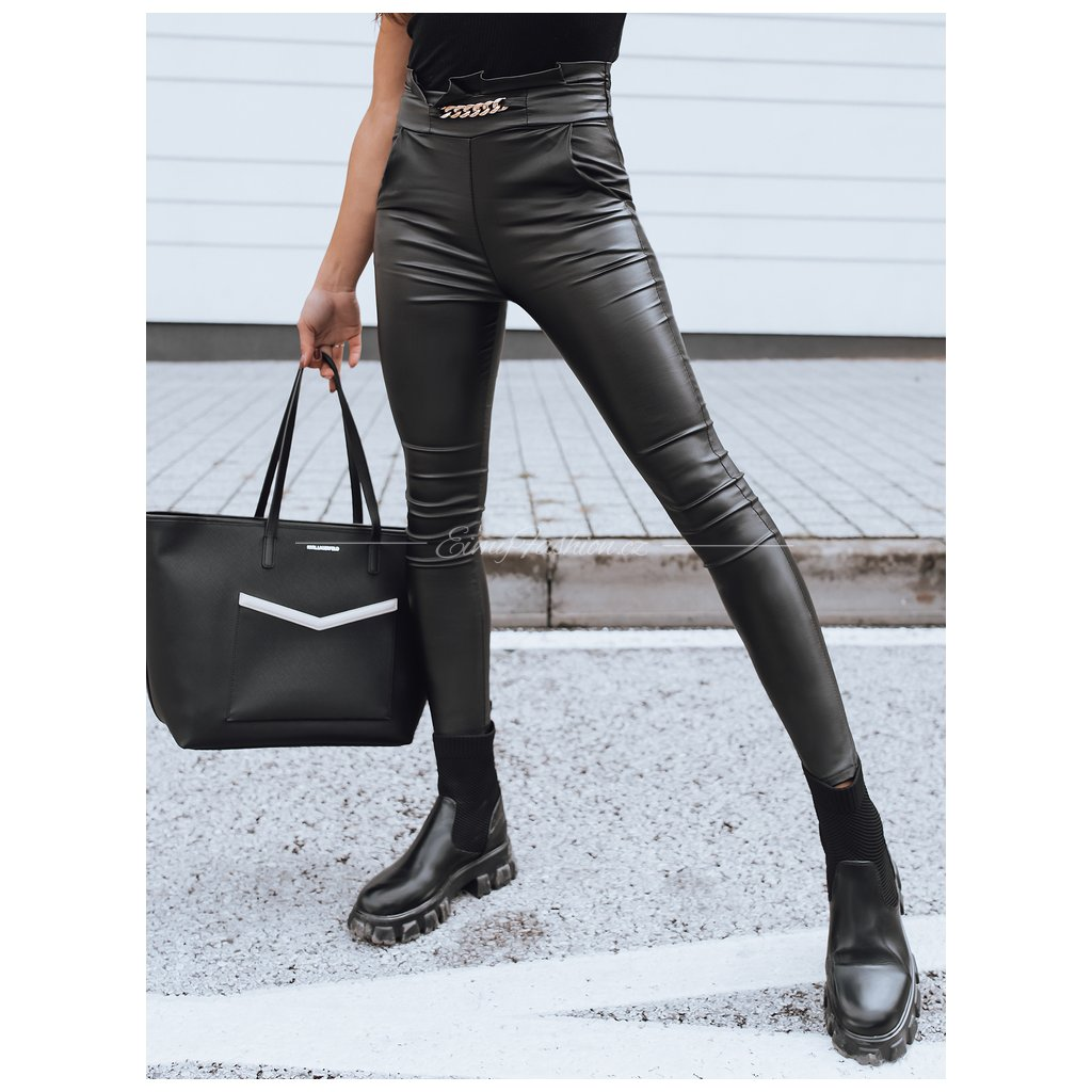 Černé dámské kalhoty BONNITA