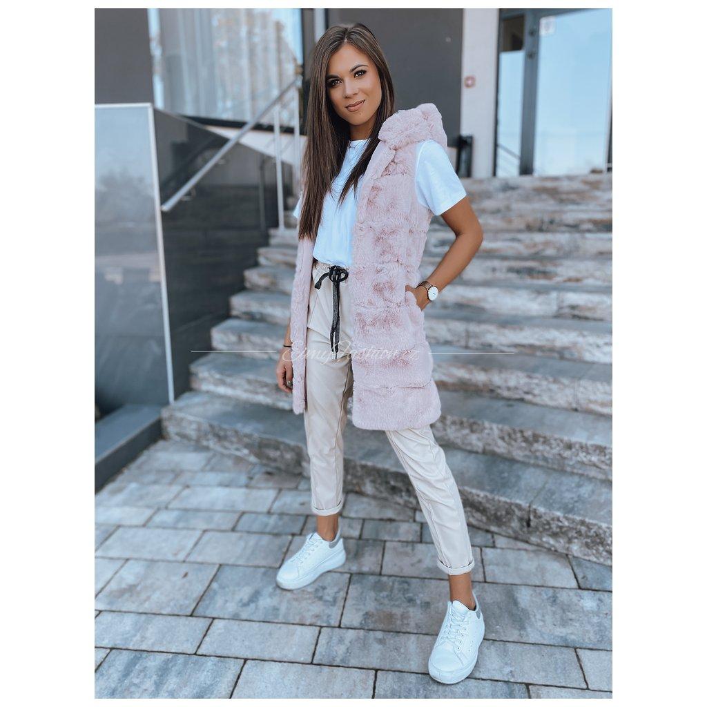 Dámská vesta PAMELA/Pink