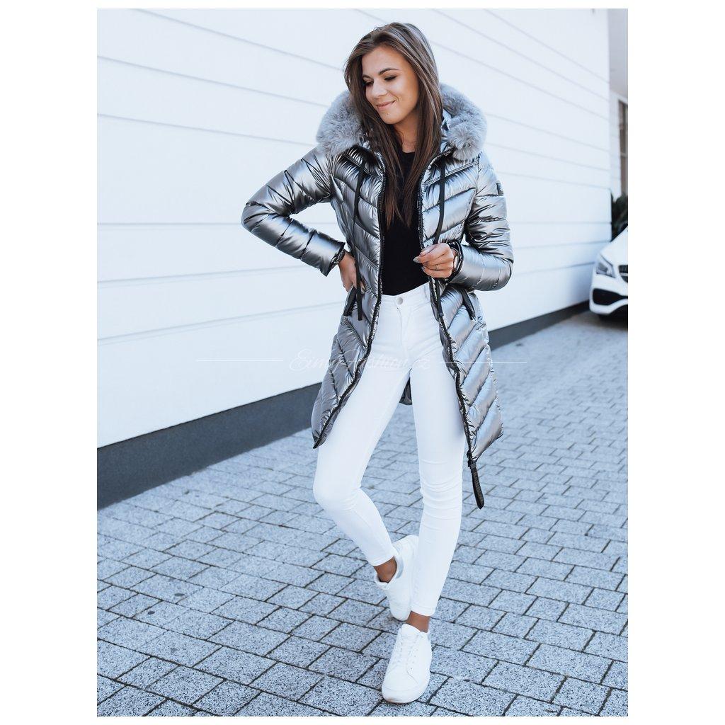 Dámská prošívaná bunda NIKKI/Grey