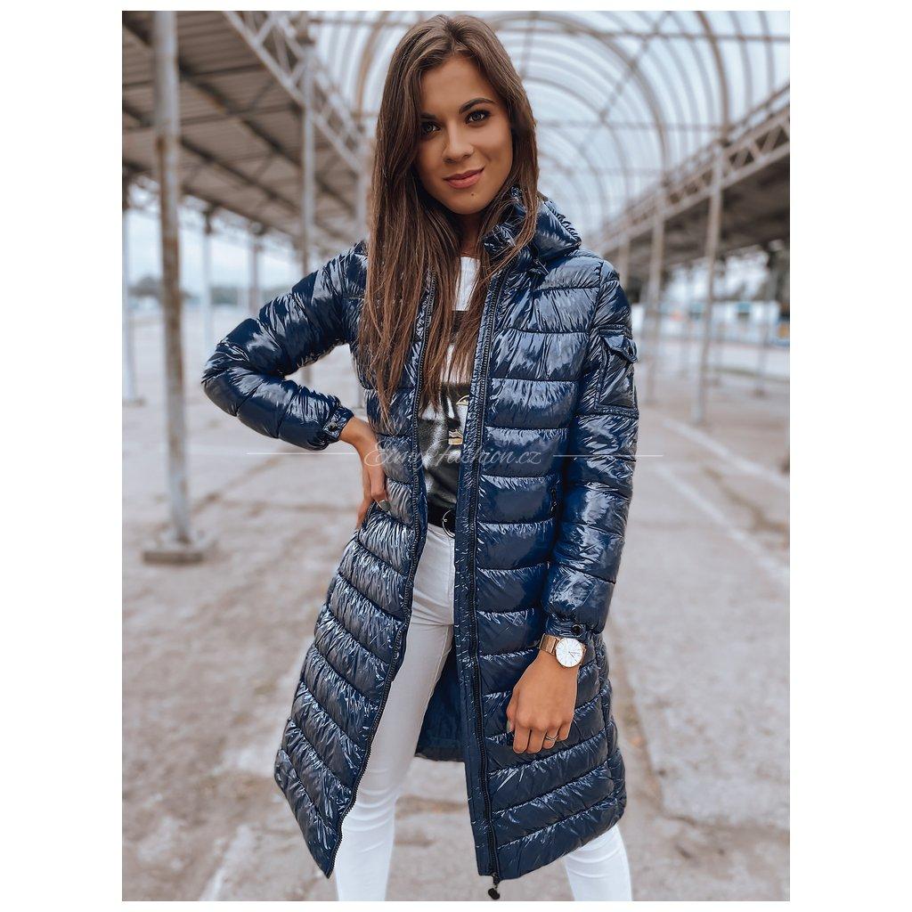 Dámský prošívaný kabát BOLONIA/Blue