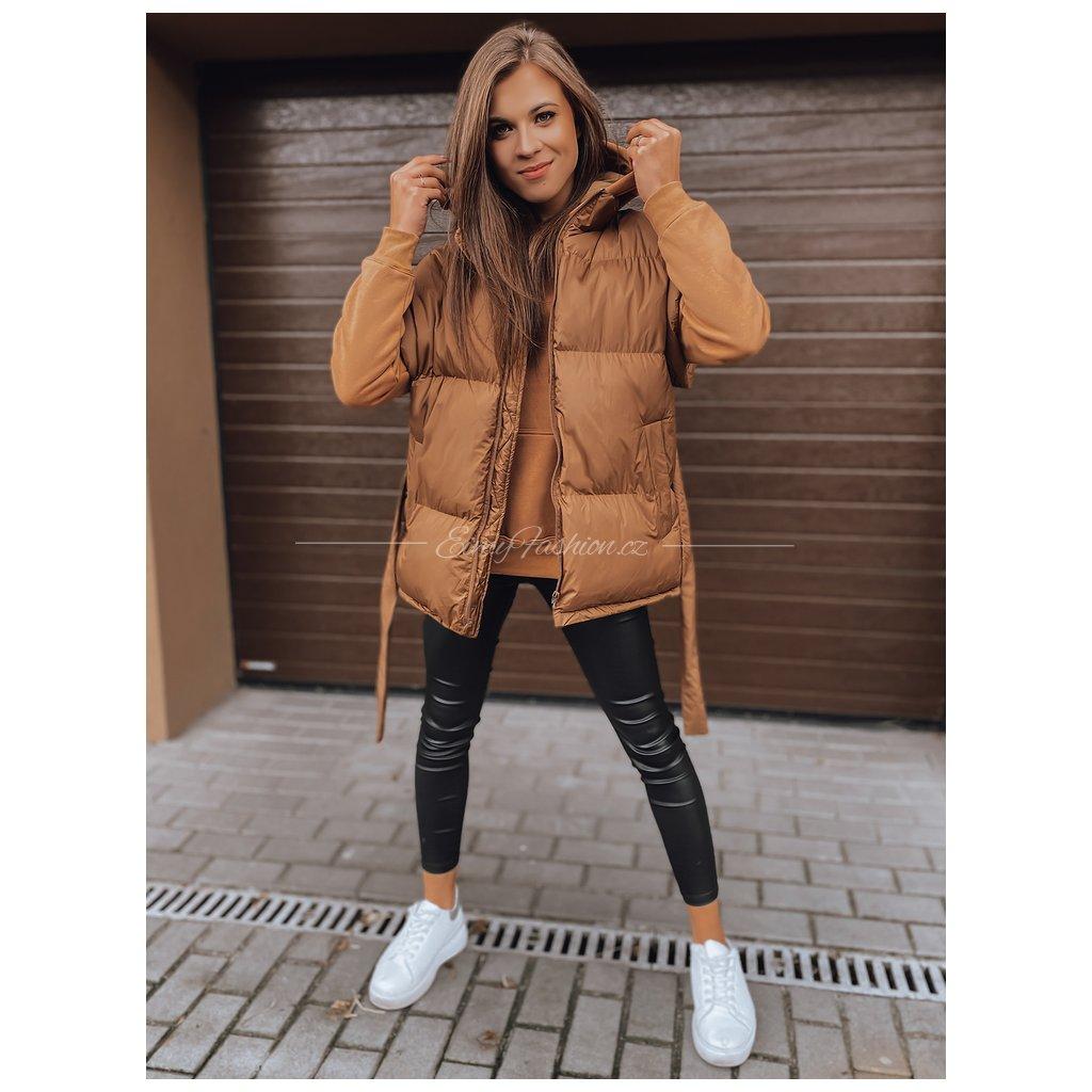 Dámská vesta JEAM/Brown