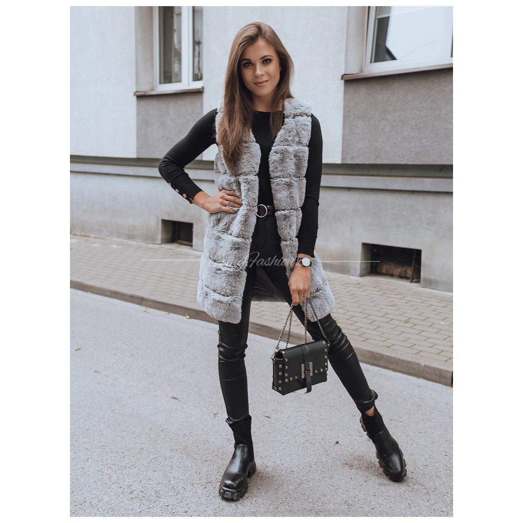 Dámská vesta BAZY/Grey