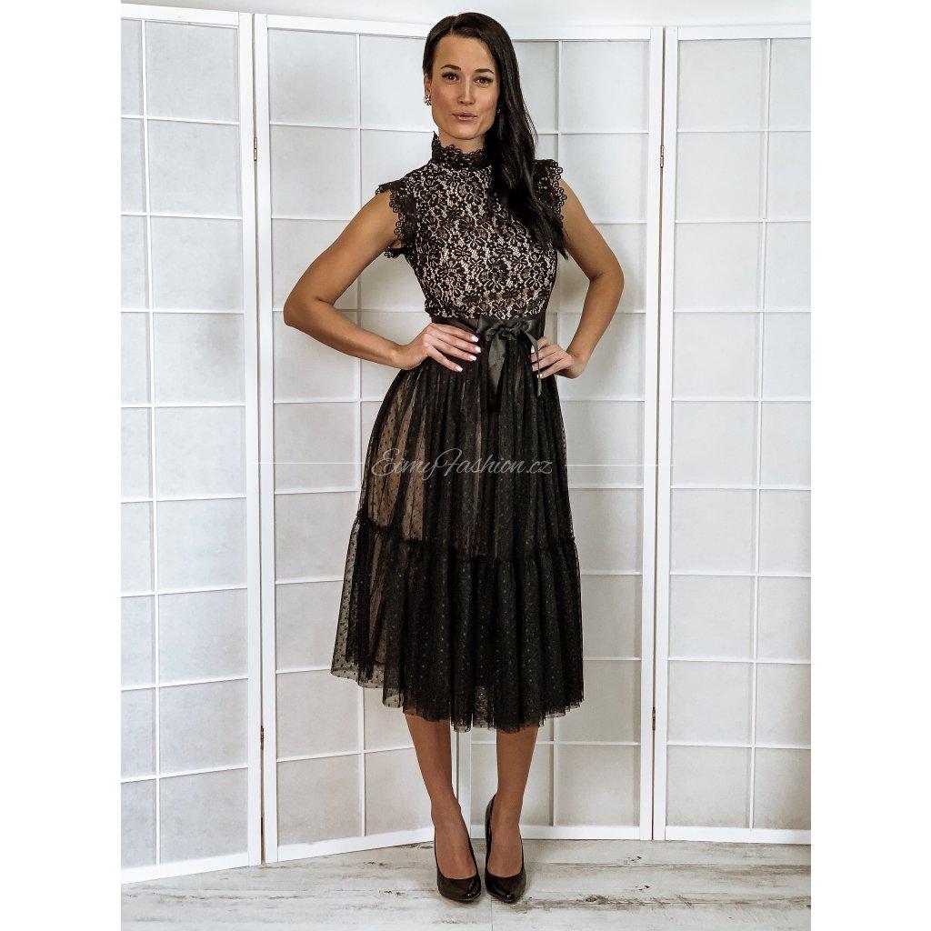 Šaty BETTANY/Black