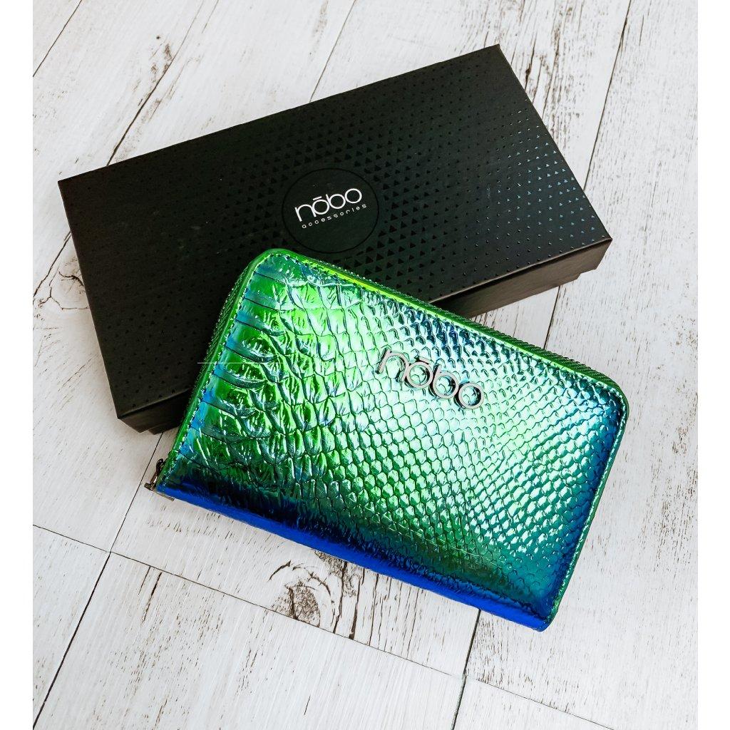 Peněženka NOBO/Barevná, Zelená