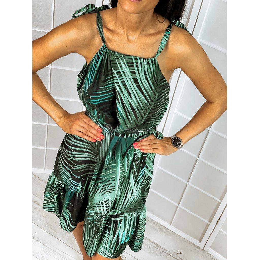 Šaty ASTERIA - zelené 2