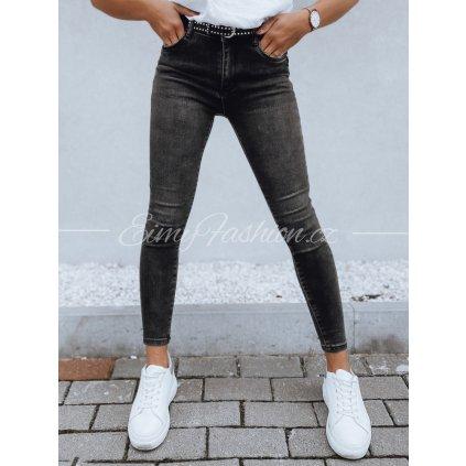 Dámské černé kalhoty LENA