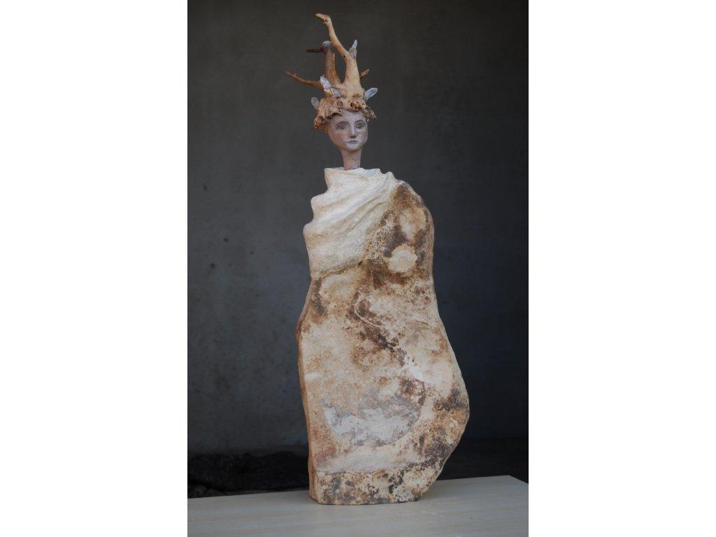 Vlídná bytost  socha