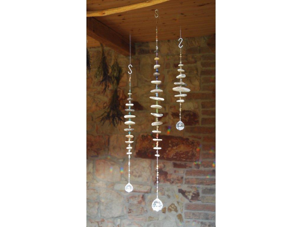 EXTRA DLOUHÁ světlohra (křišťál,perleť),67cm