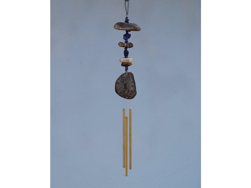 Říční zvonkohra s lapisem lazuli