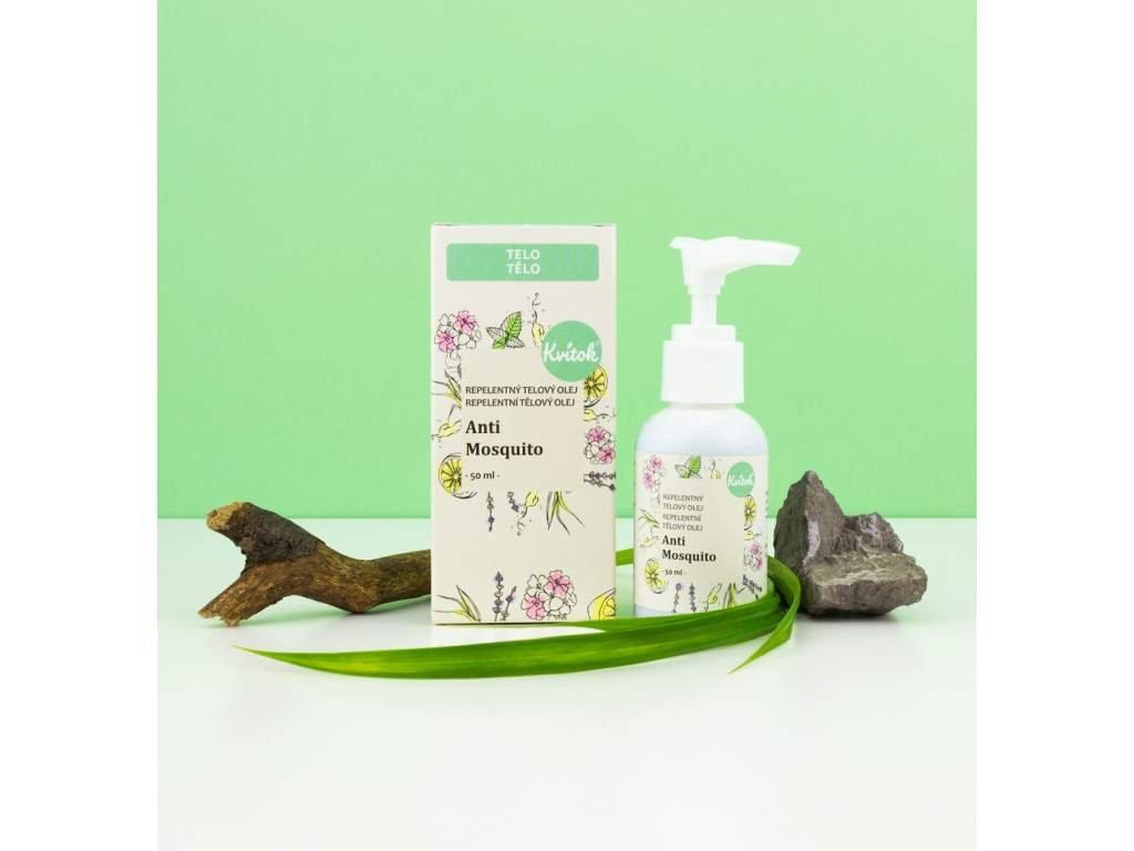 NAVIA Anti Mosquito repelentní tělový olej