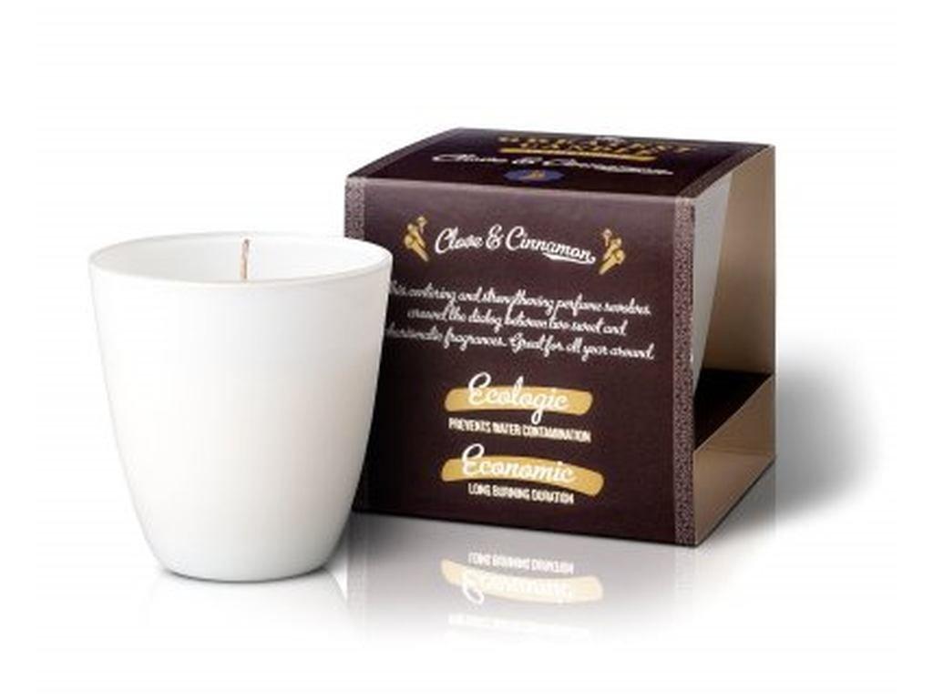 The Greatest Candle Vonná svíčka ve skle (130 g) hřebíček a skořice