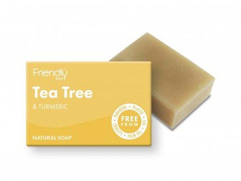 FRIENDLY SOAP Tea Tree přírodní mýdlo pro mastnou pleť a akné