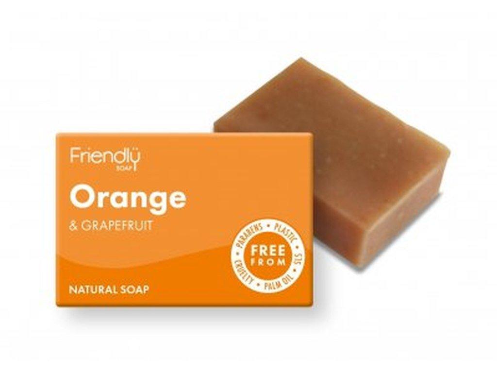 FRIENDLY SOAP Pomeranč a grep přírodní mýdlo