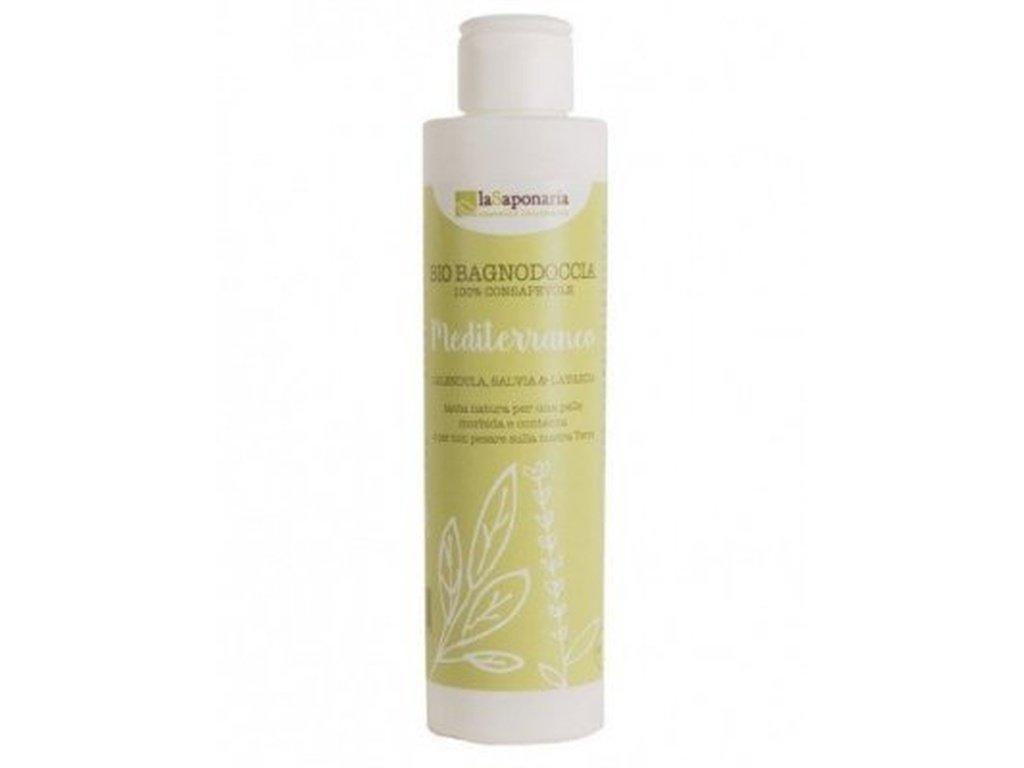 laSaponaria Středomořský sprchový gel BIO (200 ml) středomořské bylinky
