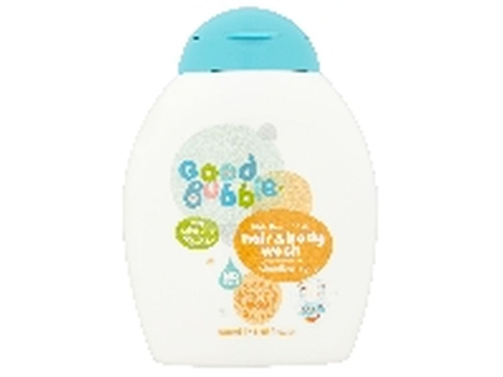 Good Bubble Dětská mycí emulze a šampon Ostružiník Moruška 250ml
