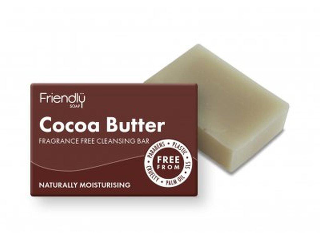 FRIENDLY SOAP Mýdlo na obličej s kakaovým máslem přírodní mýdlo