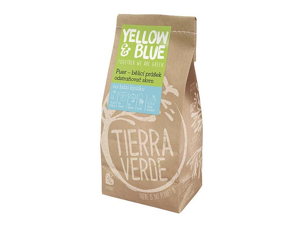 YELLOW & BLUE Puer – bělicí prášek a odstraňovač skvrn na bázi kyslíku