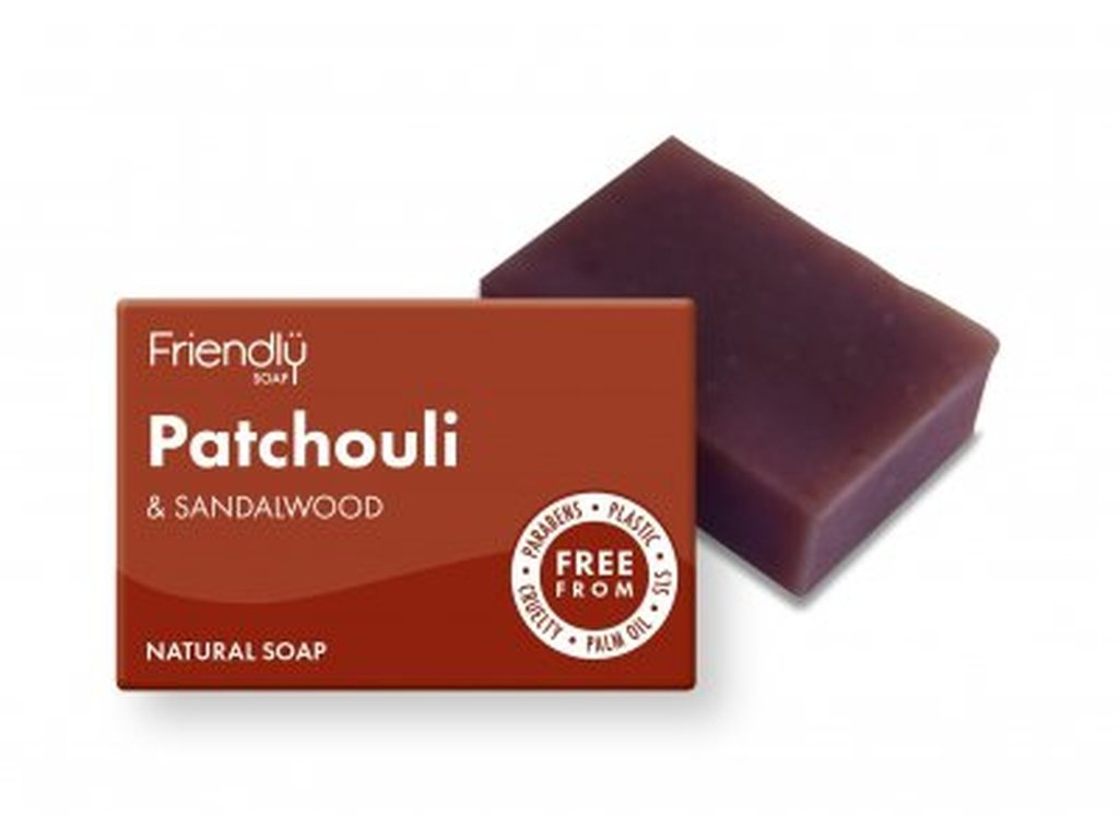 FRIENDLY SOAP Pačuli a santalové dřevo