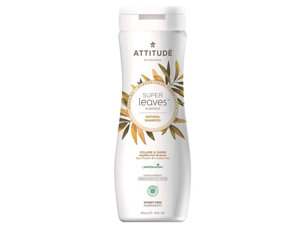 ATTITUDE Přírodní šampon s detoxikačním účinkem lesk a objem pro jemné vlasy 473 ml