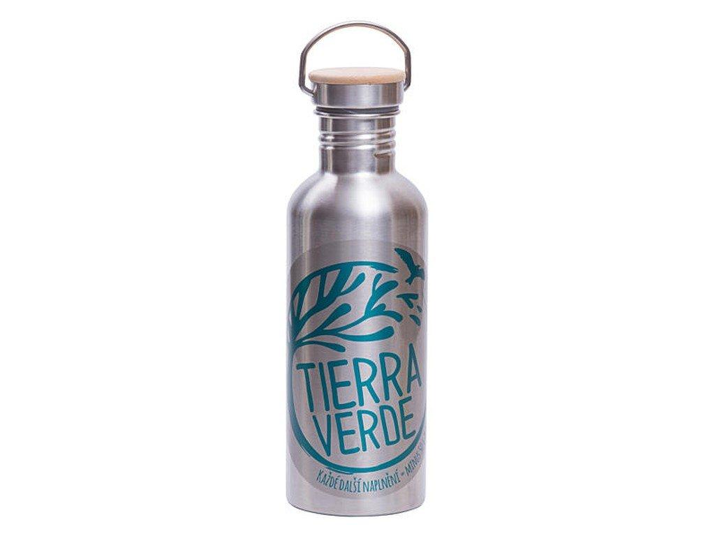 TIERRA VERDE Kovová lahev na bezobalový prodej