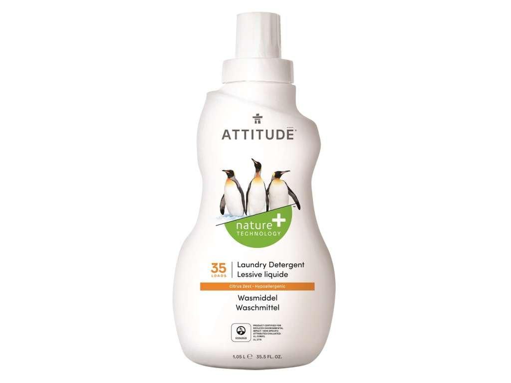 ATTITUDE Prací gel s vůní citronové kůry 1050 ml (35 pracích dávek)