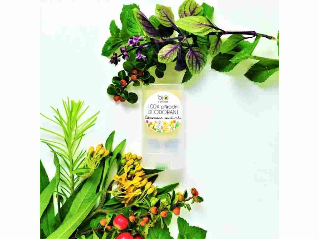 BIORYTHME 100 % přírodní deodorant Citronová meduňka (malý)