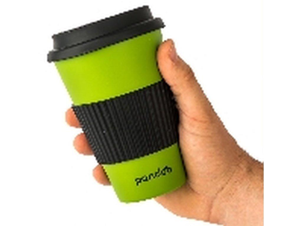 Pandoo bambusový kelímek na kávu a čaj (zelený)