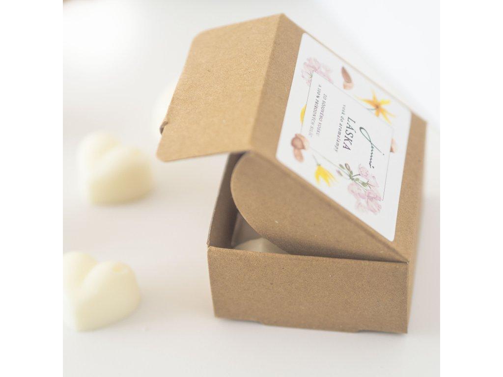 JEMNO Láska sojový vosk do aroma lampy 30 g