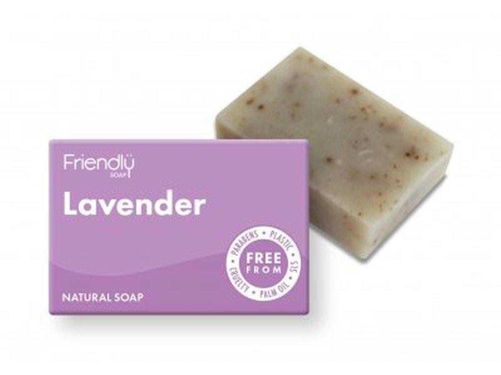 FRIENDLY SOAP Levandule přírodní mýdlo