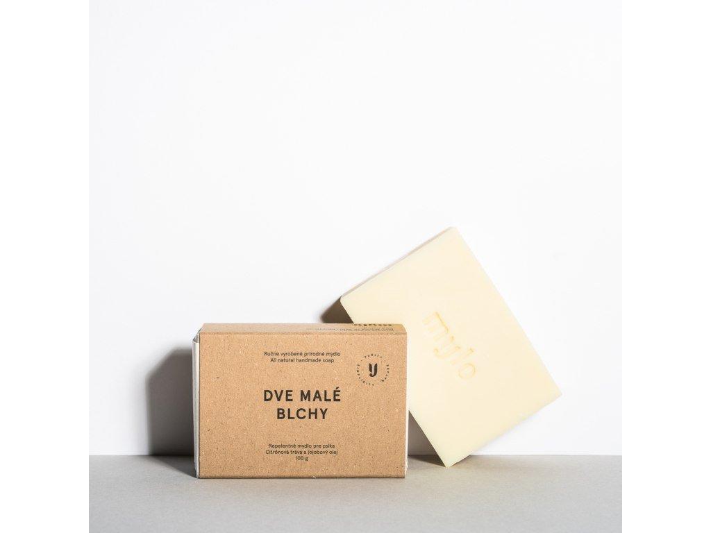 MYLO Dvě malé blešky tuhé přírodní mýdlo nejen pro pejsky