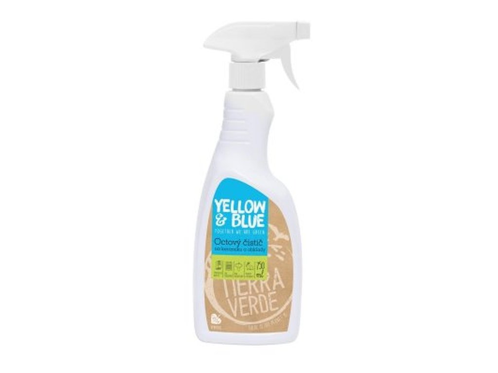 YELLOW & BLUE Octový čistič