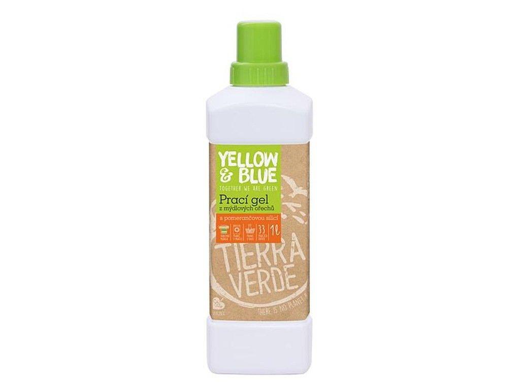 YELLOW & BLUE Prací gel pomeranč