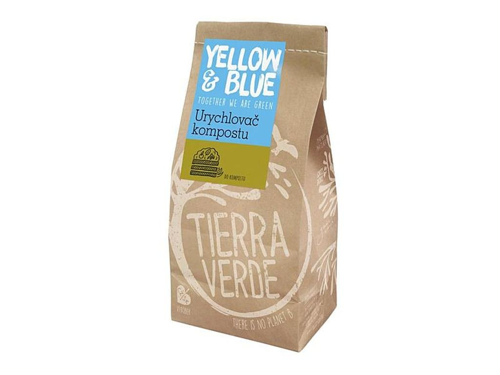 YELLOW & BLUE Urychlovač kompostu