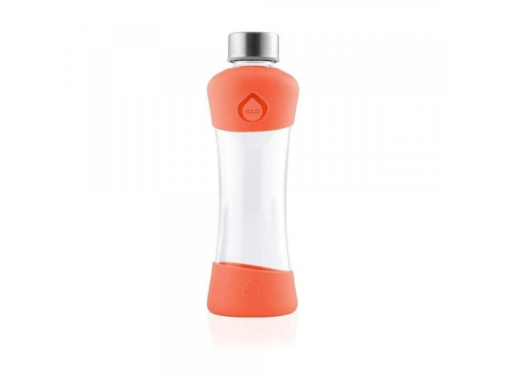 EQUA Active Tangerine 550 ml skleněná láhev