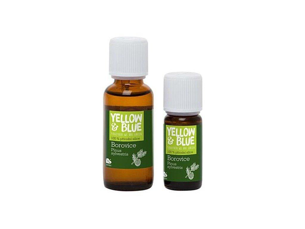 YELLOW & BLUE Silice Borovice