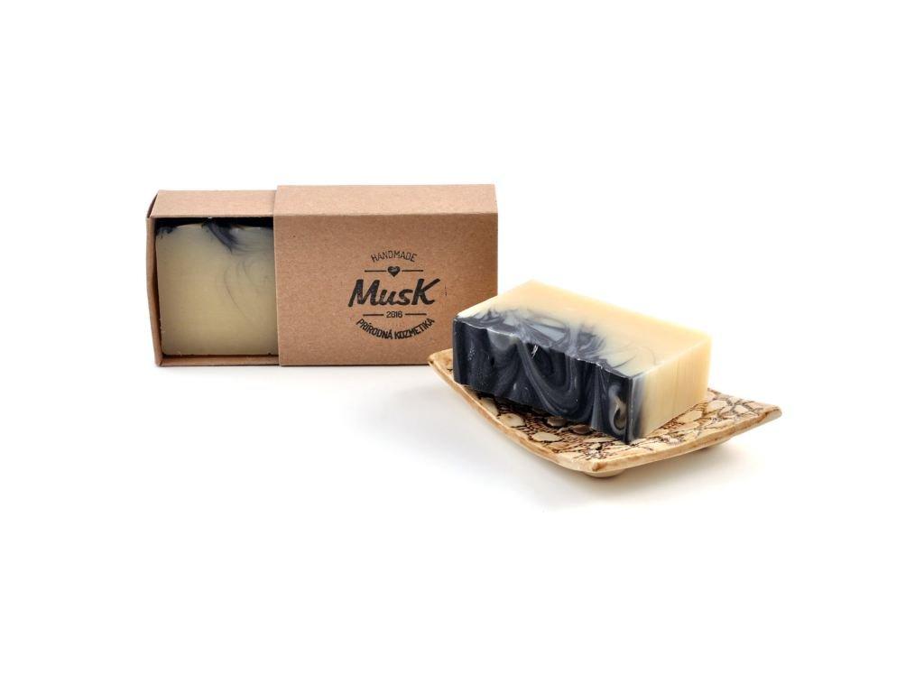MUSK Ten pravý Pánské přírodní mýdlo s včelím voskem