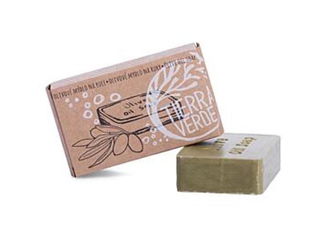 YELLOW & BLUE Olivové mýdlo na ruce (v krabičce 100 g)