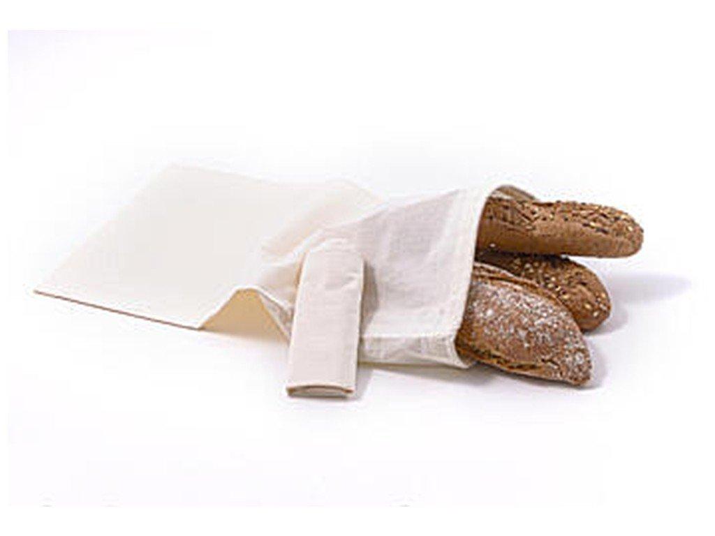 CASA ORGANICA Sada plátěných sáčků na potraviny z biobavlny – velké (3 ks)