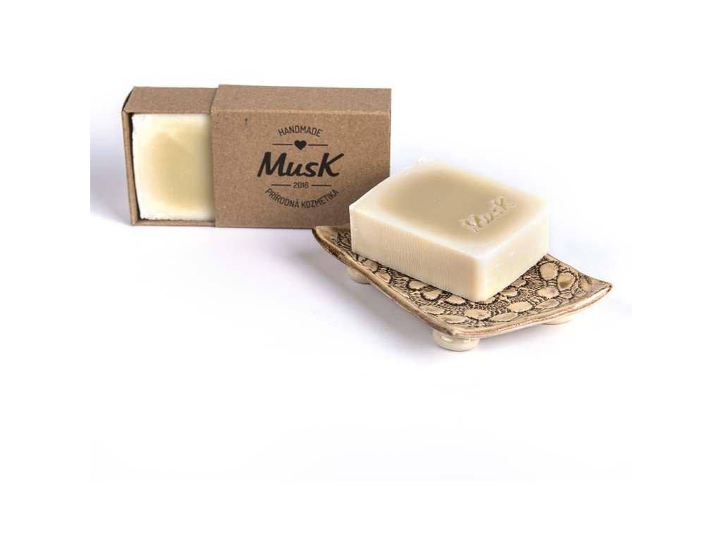 MUSK Jsem nahý Přírodní mýdlo s kakaovým máslem